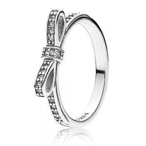Pandora Classic Bow Ring 190906CZ