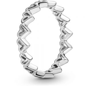 Pandora Freehand Hearts Ring 198696C00