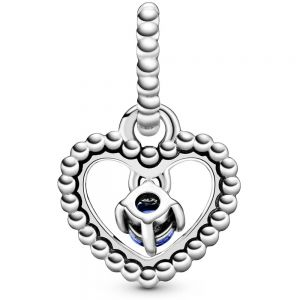 Pandora September Birthstone Heart Dangle Charm 798854C12