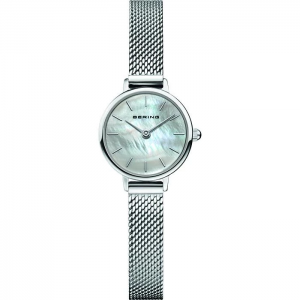 Bering Ladies Classic Watch - Silver - 11022-004