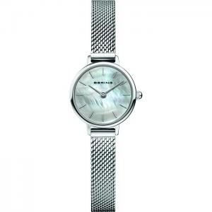 Bering Ladies Classic Watch - Silver - 11022-004