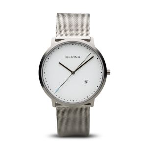 Bering Unisex Classic Brushed Silver Watch - 11139-004