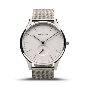 Bering Mens Classic Watch - Polished Silver