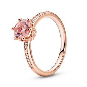 Pandora Rose Sparkling Crown Solitaire Ring 188289C01