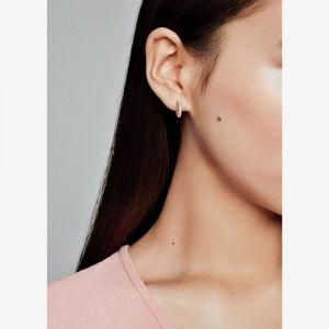Pandora Pavé Heart Hoop Earrings 286317C01