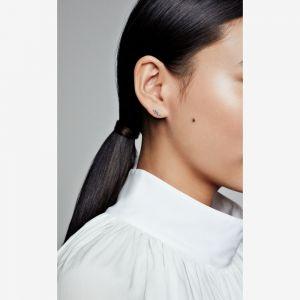 Pandora Sparkling Angel Wing Stud Earrings-298501c01