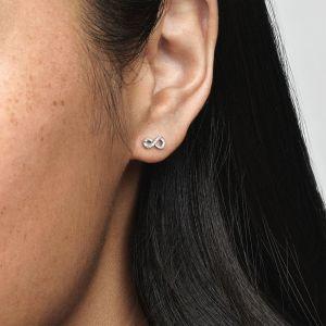 Pandora Sparkling Infinity Stud Earrings 298820C01