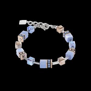 Coeur De Lion GeoCUBE Bracelet - Light Blue 4016300720