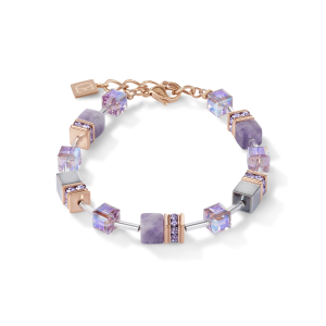 Coeur De Lion  GeoCUBE  Bracelet Lilac 4017300829