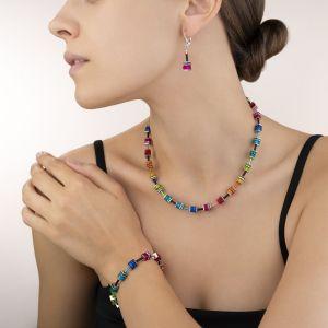 Coeur De Lion GEOCUBE Bracelet - Polaris and Rhinestone Multicolour 4409301500