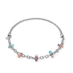 Coeur De Lion Chunky Chain Multi-wear Necklace - Multicolour Art Nouveau 5063101578