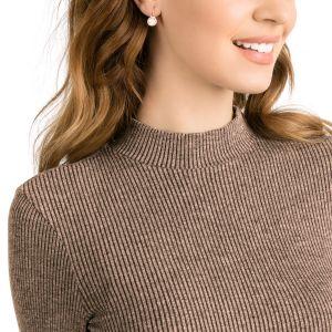 Swarovski Bella V Pierced Earrings, Pink, Rose Gold Plating 5299318