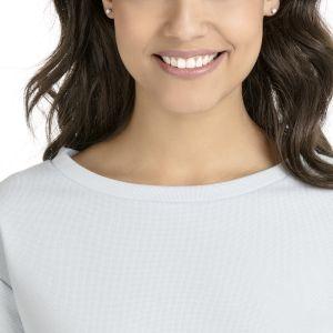 Swarovski Attract Round Pierced Earrings, White, Rhodium Plating 5408436