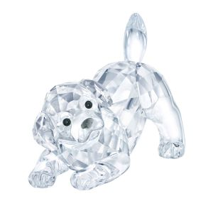 Swarovski Crystal Labrador Puppy, Playing