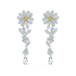 Swarovski Eternal Flower Pierced Earrings - 5512655