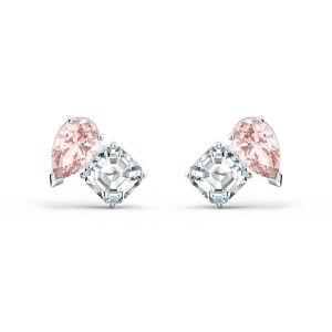 Swarovski Attract Soul Pierced Earrings - Rhodium Plated - 5517118