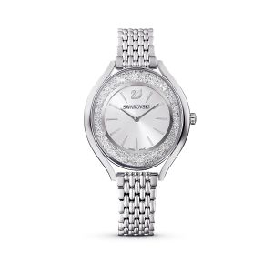 Swarovski Crystalline Aura Watch, Metal Bracelet, Silver tone - Stainless Steel - 5519462