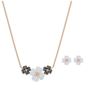Swarovski Latisha Set, Rose Gold Plating 5520946