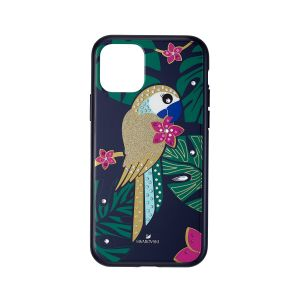 Tropical Parrot Smartphone Case with Bumper, iPhone® 11 Pro, Dark multi-coloured 5534015