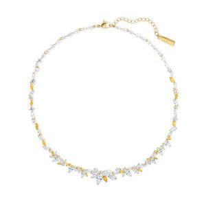 Swarovski Botanical Necklace - Gold-tone Plated - 5535775