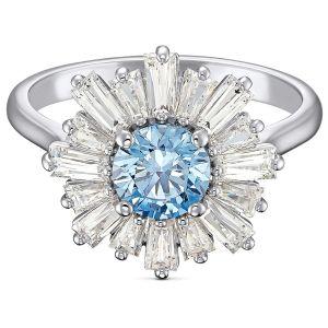Swarovski Anniversary Sunshine Ring 2020 - Blue and White 5537795, 5536743, 5537797