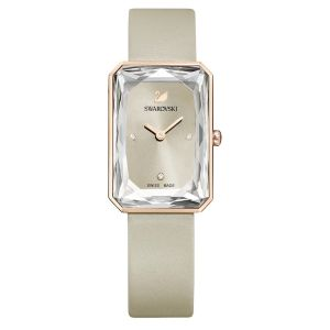Swarovski Uptown Watch - Leather Strap - Gray 5547716