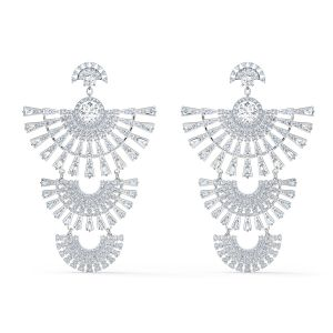 Swarovski Sparkling Dance Dial Up Pierced Earrings 5568008