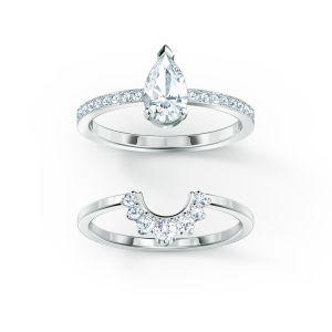 Swarovski Attract Pear Ring 5572656  5572660