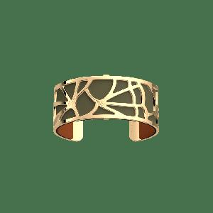 Les Georgettes Fleurs du Nil Bracelet - 25mm Gold Finish