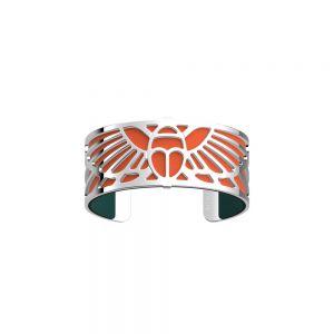 Les Georgettes Scarabee 25mm Silver Finish Bracelet 70355021600000