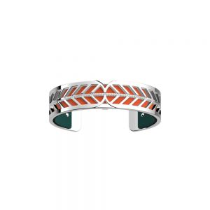 Les Georgettes Faucon Bracelet - 14mm Silver and Zirconia 70365120108000