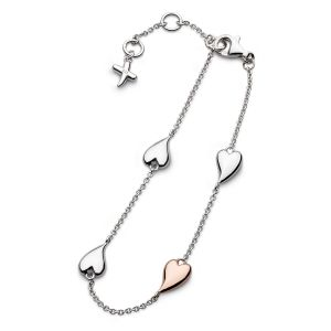 Kit Heath Desire Kiss Blush Heart Station Bracelet KH70501RRP