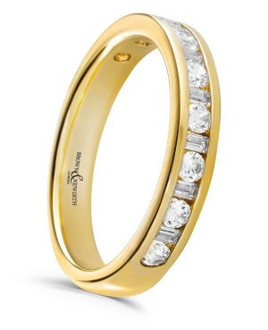 Brown & Newirth 'Magic' Half Eternity Ring