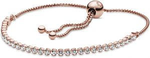 Pandora Rose Sparkling Slider Tennis Bracelet-580524cz-23, 580524cz-25