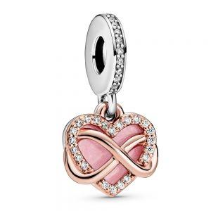 Pandora Rose Sparkling Infinity Heart Dangle Charm 788878C01