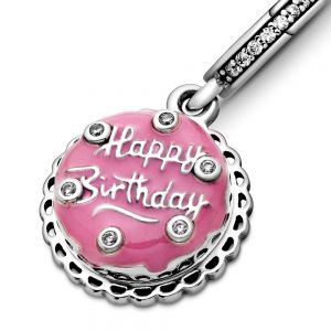 Pandora Pink Birthday Cake Dangle Charm 798888C01