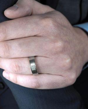 Brown & Newirth 'Eridanus' Wedding Band, For Him