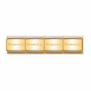 Nomination Classic Gold Stainless Steel Starter Bracelet