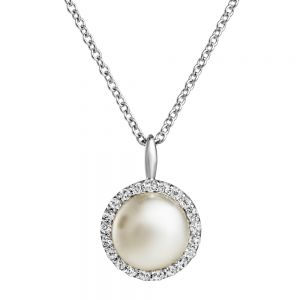 Jersey Pearl Amberley Cluster Pendant