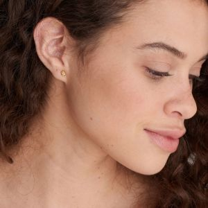 Ania Haie Gold Knot Stud Earrings E029-01G