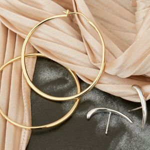 Ania Haie Gold Luxe Hoop Earrings E024-04G