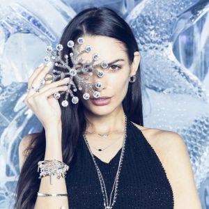 Annie Haak Marquise Silver Chain Necklace - Hematite