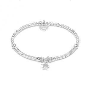Annie Haak Pipa Boxed Star Silver Charm Bracelet