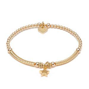 Annie Haak Pipa Boxed Star Gold Charm Bracelet B2086