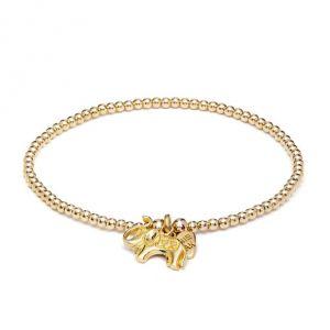 Annie Haak Santeenie Gold Elephant Charm Bracelet B0328-17 , B0328-19