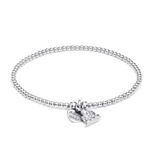 Annie Haak Santeenie Silver Buddha Bracelet B1047-17