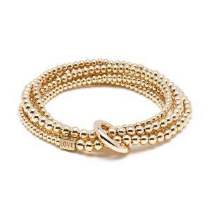 Annie Haak Yard of Love Gold Bracelet B0782-17