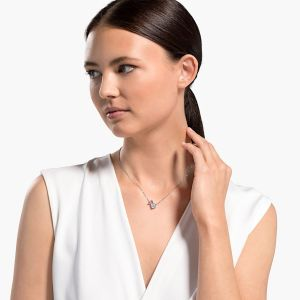 Swarovski Attract Soul Necklace - Rhodium Plating - 5517115