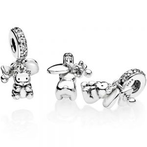 Pandora Baby Teddy Bear Dangle Charm - 792100CZ