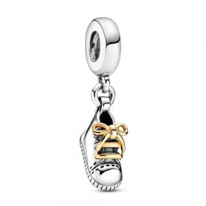 Pandora Baby Shoe Dangle Charm - 799075C00